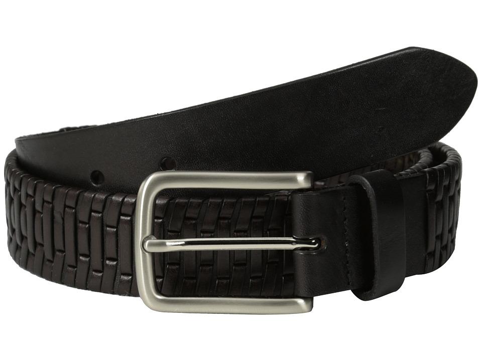 Tommy Bahama - Island Grid (Black/Brown) Men's Belts