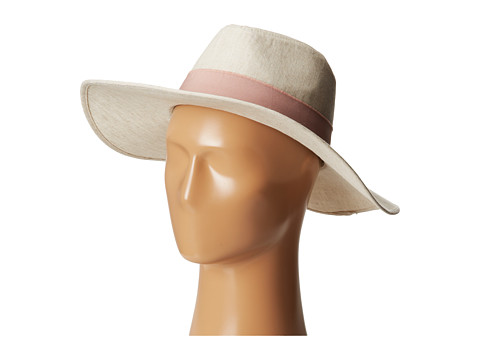 BCBGeneration - Frayed Panama (Whisper White) Traditional Hats