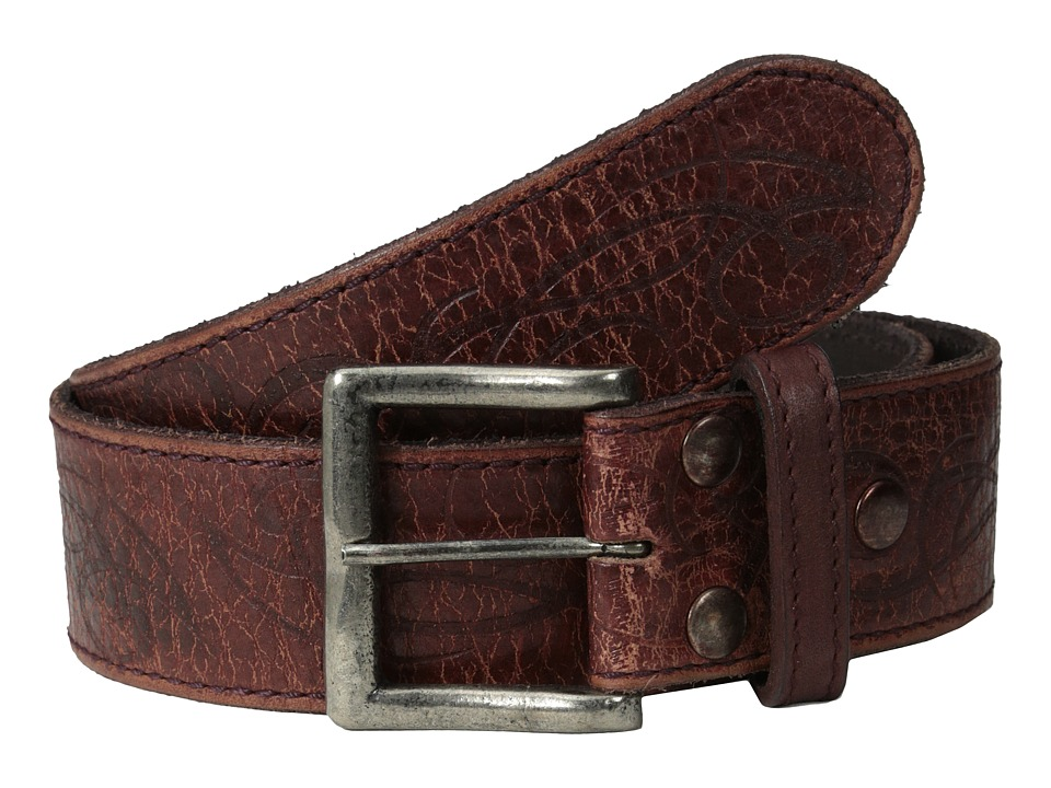 Bed Stu - Fresh (Ox Blood Lux) Men's Belts