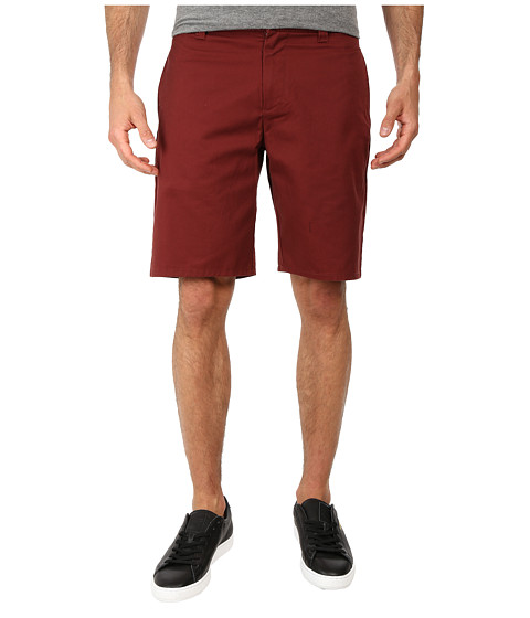 Brixton - Carter Short (Burgundy) Men's Shorts