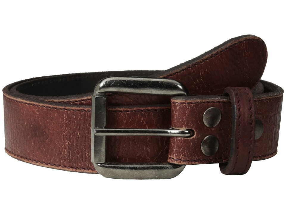 Bed Stu - Meander (Ox Blood Lux) Men's Belts