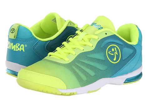 Zumba - Zumba Impact Pulse (Turquoise/Neon Yellow) Women