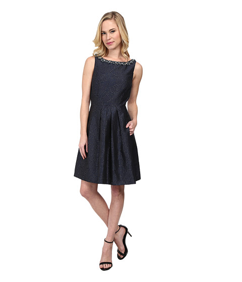 Tahari by ASL Petite - Petite Willy Dress (Navy) Women's Dress