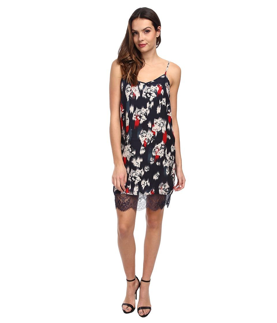 Jack by BB Dakota - Kathleen Floral Slip Dress (Midnight) Women's Dress
