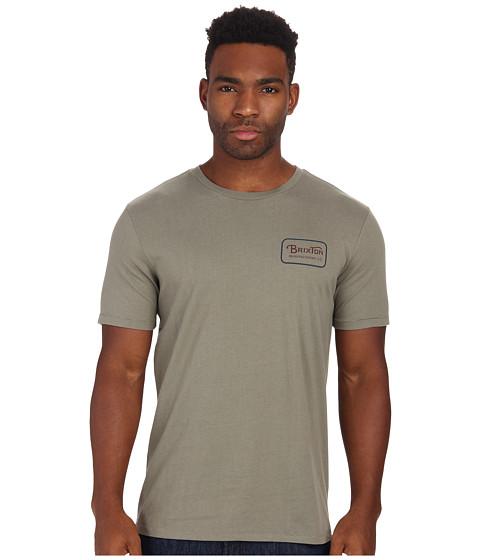 Brixton - Grade S/S Premium Tee (Sage) Men's T Shirt