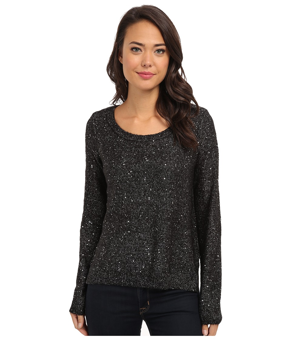 Jack by BB Dakota - Cadler Sequin Marled Sweater (Black) Women's Sweater