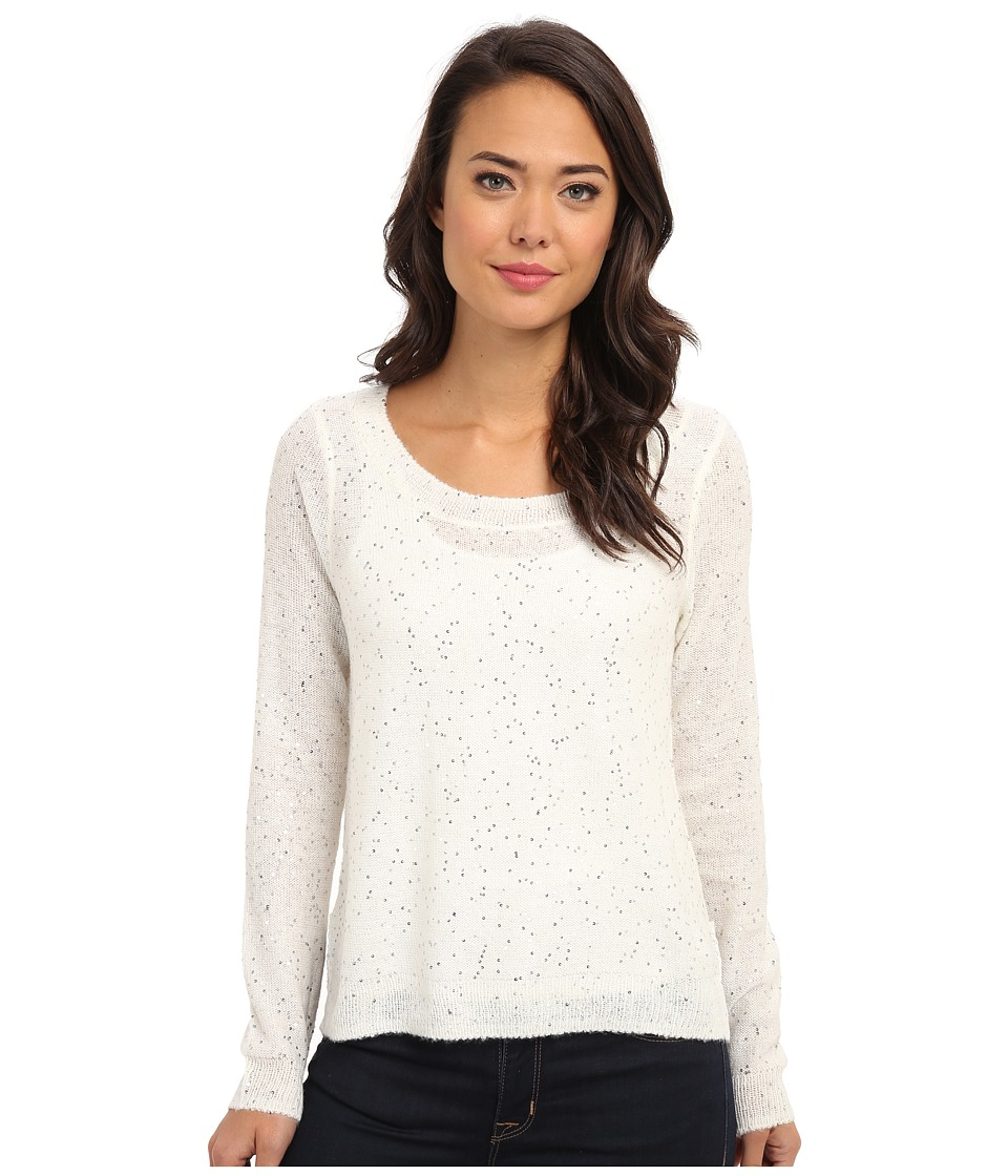 Jack by BB Dakota - Cadler Sequin Marled Sweater (Ivory) Women's Sweater