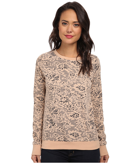 Jack by BB Dakota - Kalle Floral Top (Pink Shell) Women's Clothing