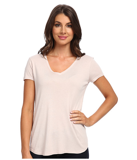 Three Dots - Daria Easy Fit Classic V (Muse) Women's Short Sleeve Pullover