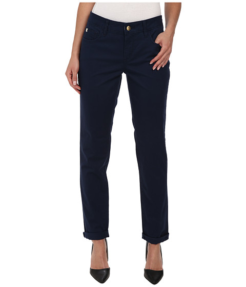 Christopher Blue - Diane Roll Boyfriend Carmel Twill (Nautical Navy) Women