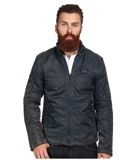 French Connection - Eagle Has Landed (Dark Blue/Dark) Men's Coat