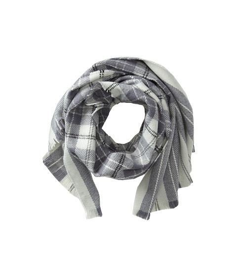 Hat Attack - Plaid Scarf (Grey) Scarves