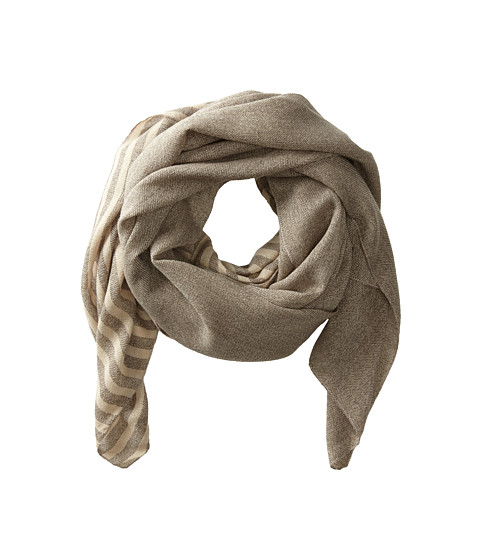 Hat Attack - Stripe Scarf (Oat) Scarves