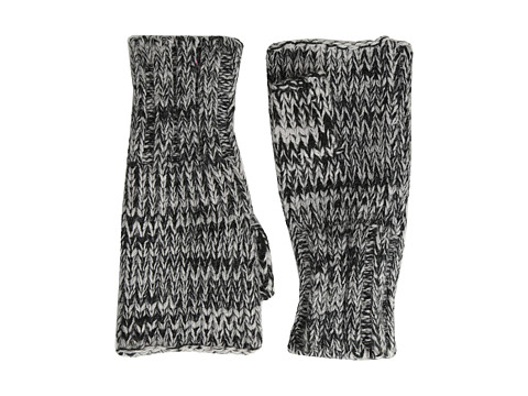 Hat Attack - Marled Fingerless (Black) Dress Gloves