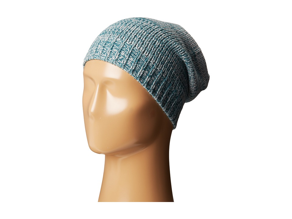 Hat Attack - Marled Slouchy (Teal) Beanies