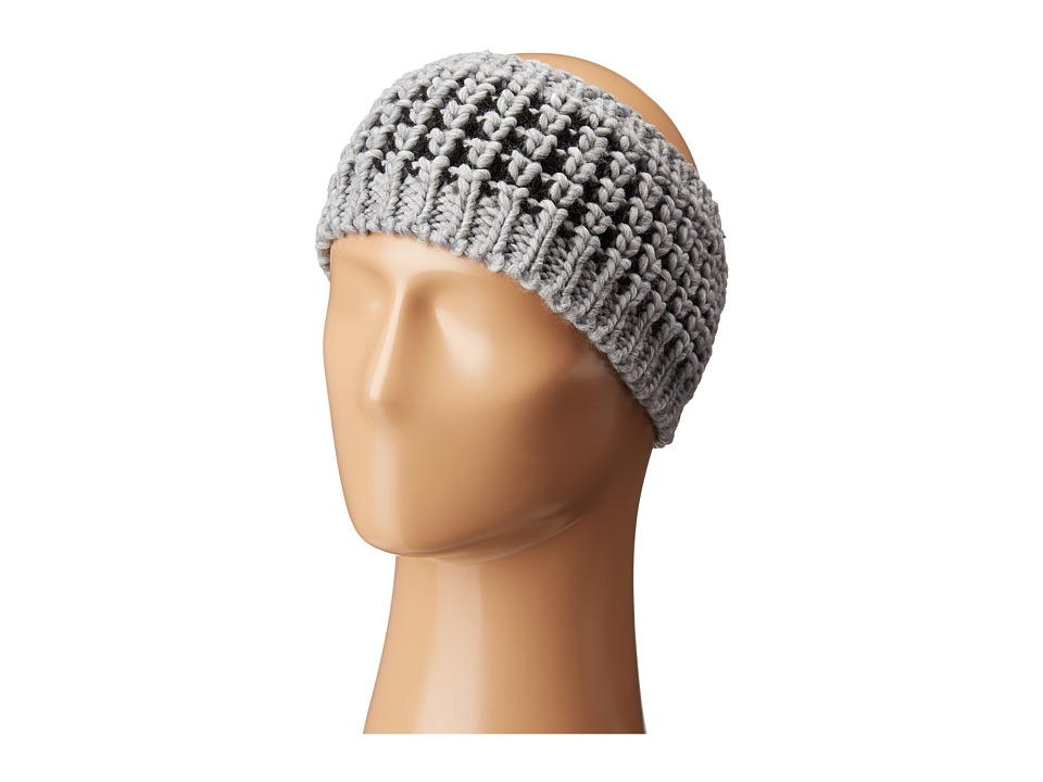 Hat Attack - Textured Headband (Grey) Headband