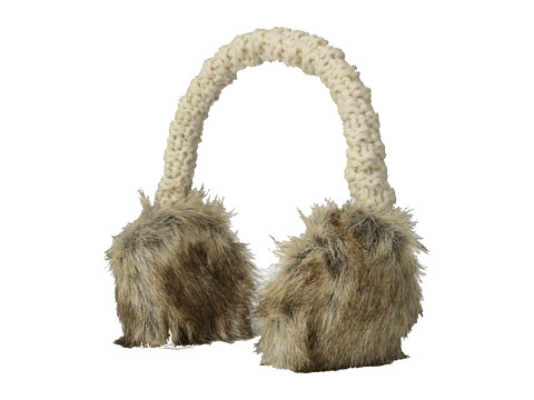 Hat Attack - Faux Fur Earmuff (Natural Brown) Cold Weather Hats