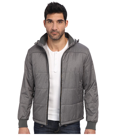 Report Collection - Bomber Jacket (Charcoal) Men's Coat