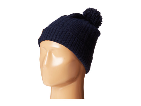 Cole Haan - Cable Cuff Hat (Blazer Blue) Beanies