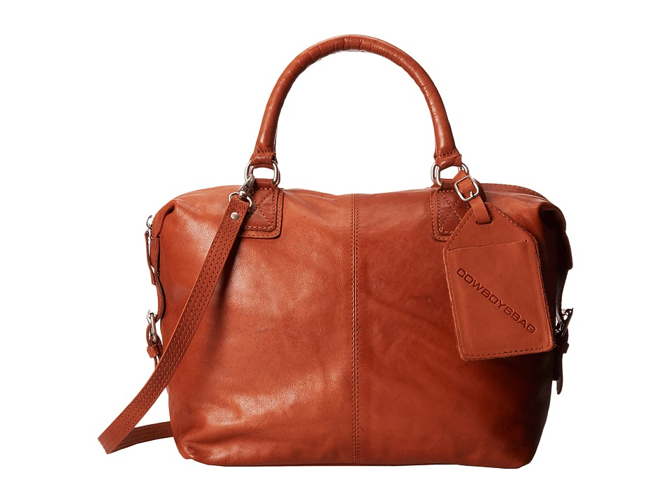 COWBOYSBELT - Worcester Bag (Cognac) Shoulder Handbags