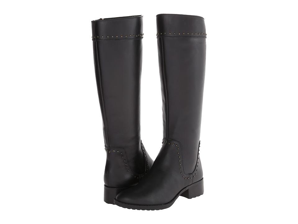 Circa Joan & David - Talaro (Black Leather) Women's Dress Zip Boots