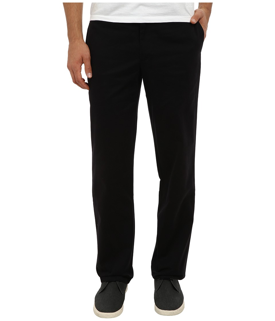 Dockers Men's - Easy Khaki D2 Straight Flat Front (Black) Men's Casual Pants
