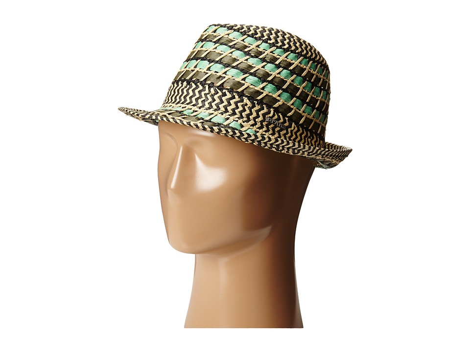 Prana - Lisen Straw Fedora (Sea Spray) Fedora Hats