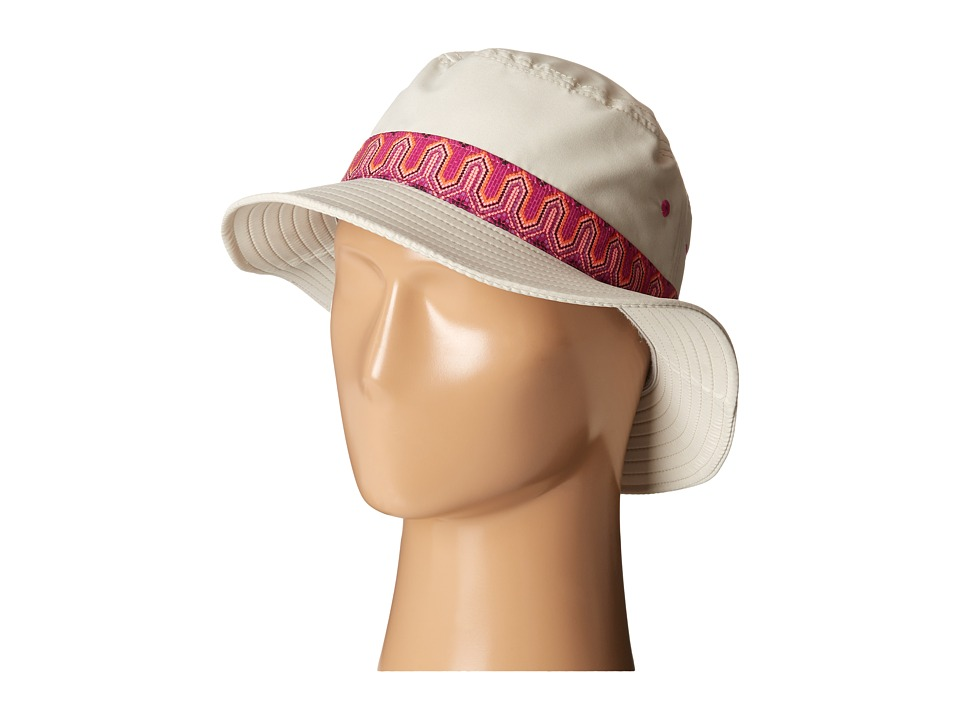 Prana - Sea Shells Bucket (Stone) Bucket Caps