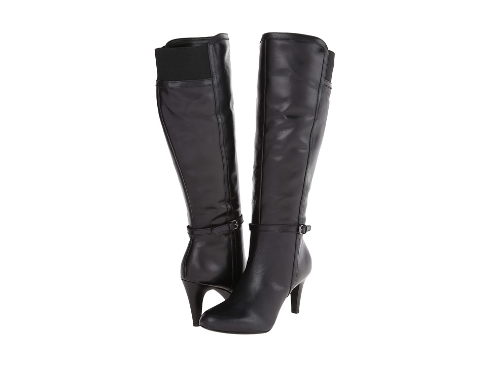 Circa Joan & David - Hadlie Wide Calf (Black Multi Wide Leather) Women's Boots