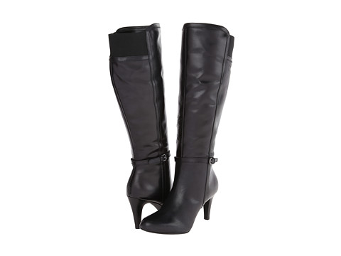 Circa Joan & David - Hadlie Wide Calf (Black Multi Wide Leather) Women's Boots