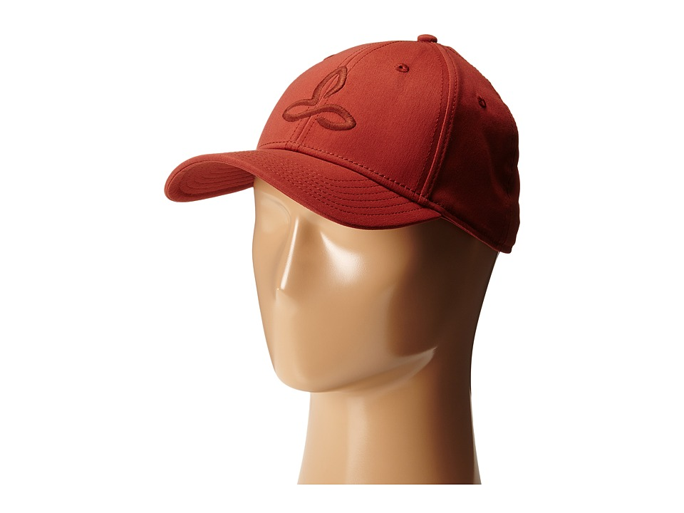 Prana - Zion Ball Cap (Brick) Baseball Caps