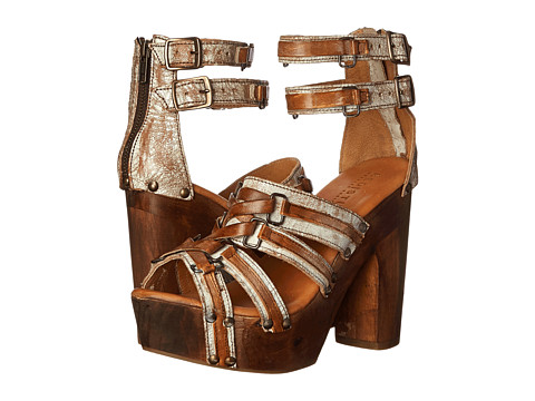 Bed Stu - Mona (Nectar Lux/Tan Rustic/White) High Heels