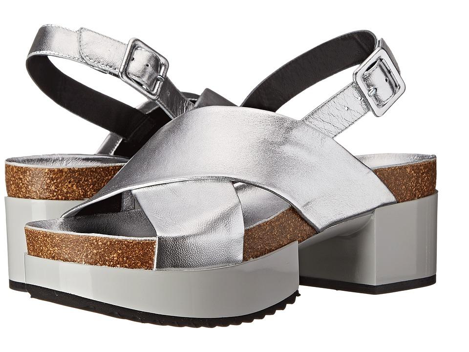 Robert Clergerie - Tessa (Silver Nappa) Women's Shoes