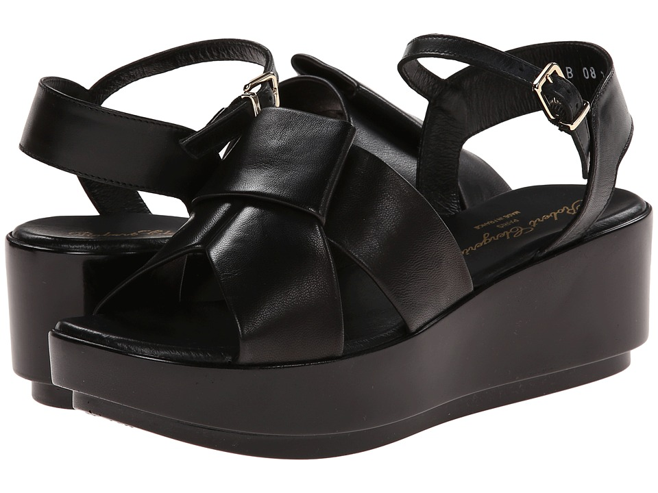 Robert Clergerie - Phiction (Black Nappa Leather) Women