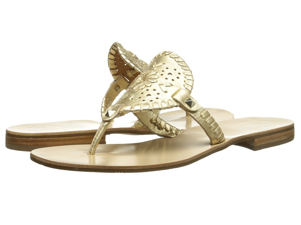Jack Rogers - Georgica (Gold) Women's Sandals