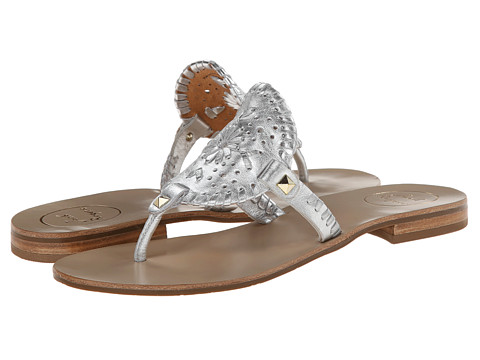 Jack Rogers - Georgica (Silver) Women's Sandals