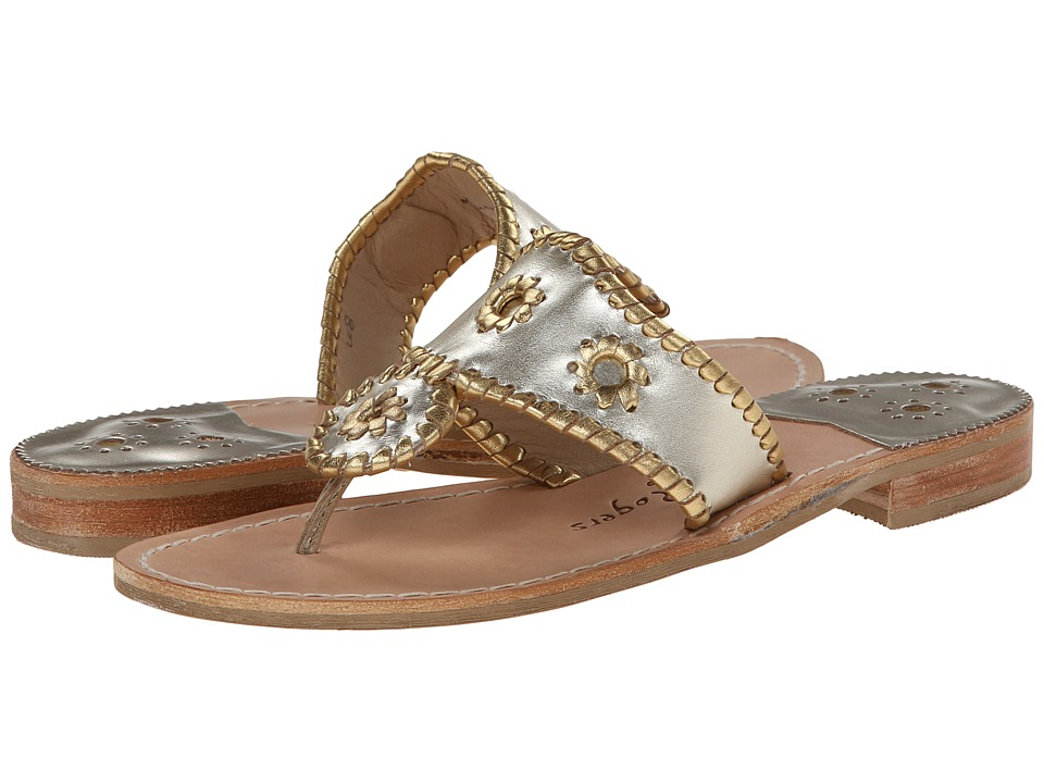 Jack Rogers - Nicola (Platinum/Gold) Women's Shoes
