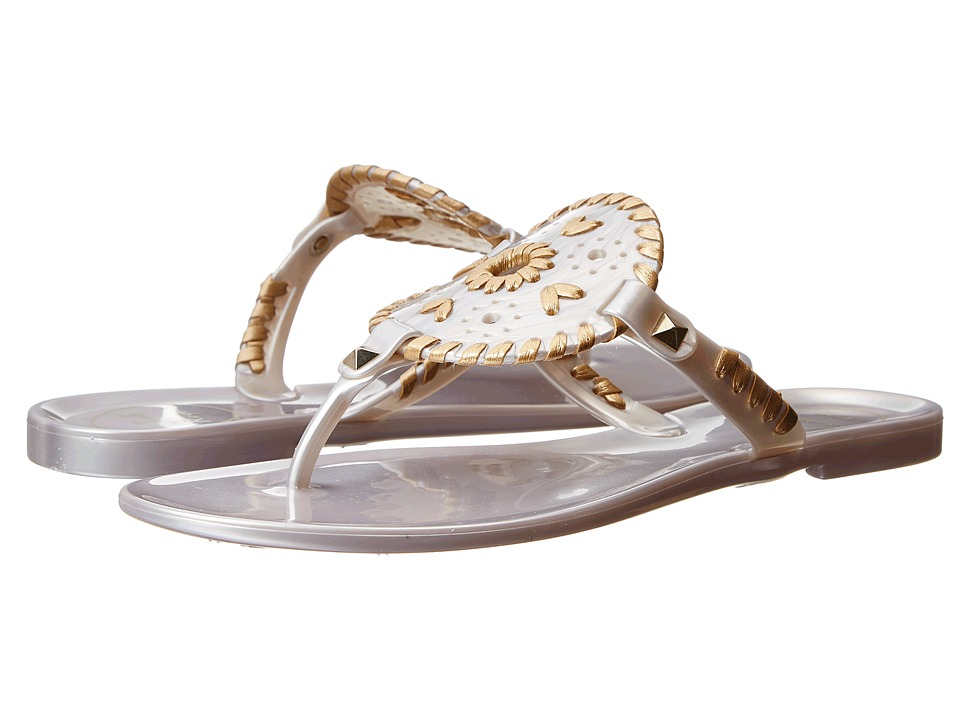 Jack Rogers - Georgica Jelly (Silver/Gold) Women's Sandals
