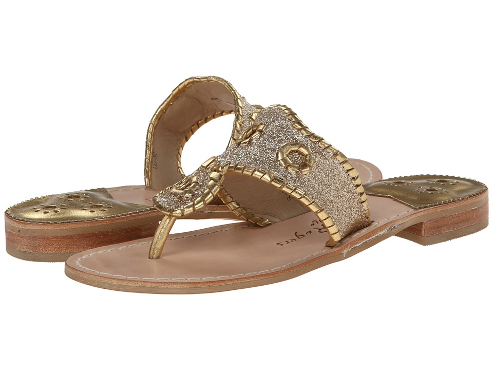 Jack Rogers - Sparkle (Gold) Women's Sandals