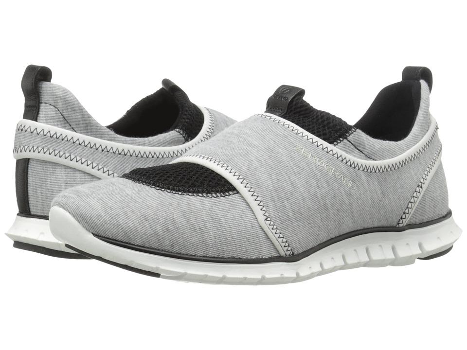 Cole Haan - Zerogrand Slip-On Sneaker (Grey/Optic White/Black) Women's Slip on Shoes