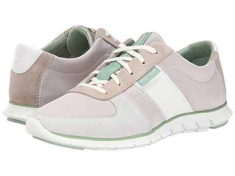 Cole Haan - Zerogrand Sneaker (Twine Suede/Optic White) Women