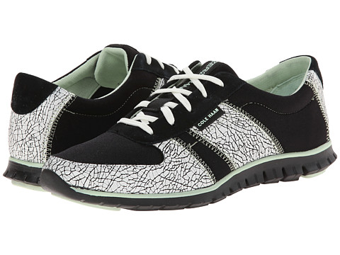Cole Haan - Zerogrand Sneaker (Black/White Crackle) Women's Shoes