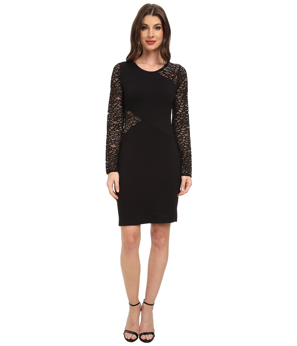 BCBGMAXAZRIA Jorden Cocktail Dress (Black) Women