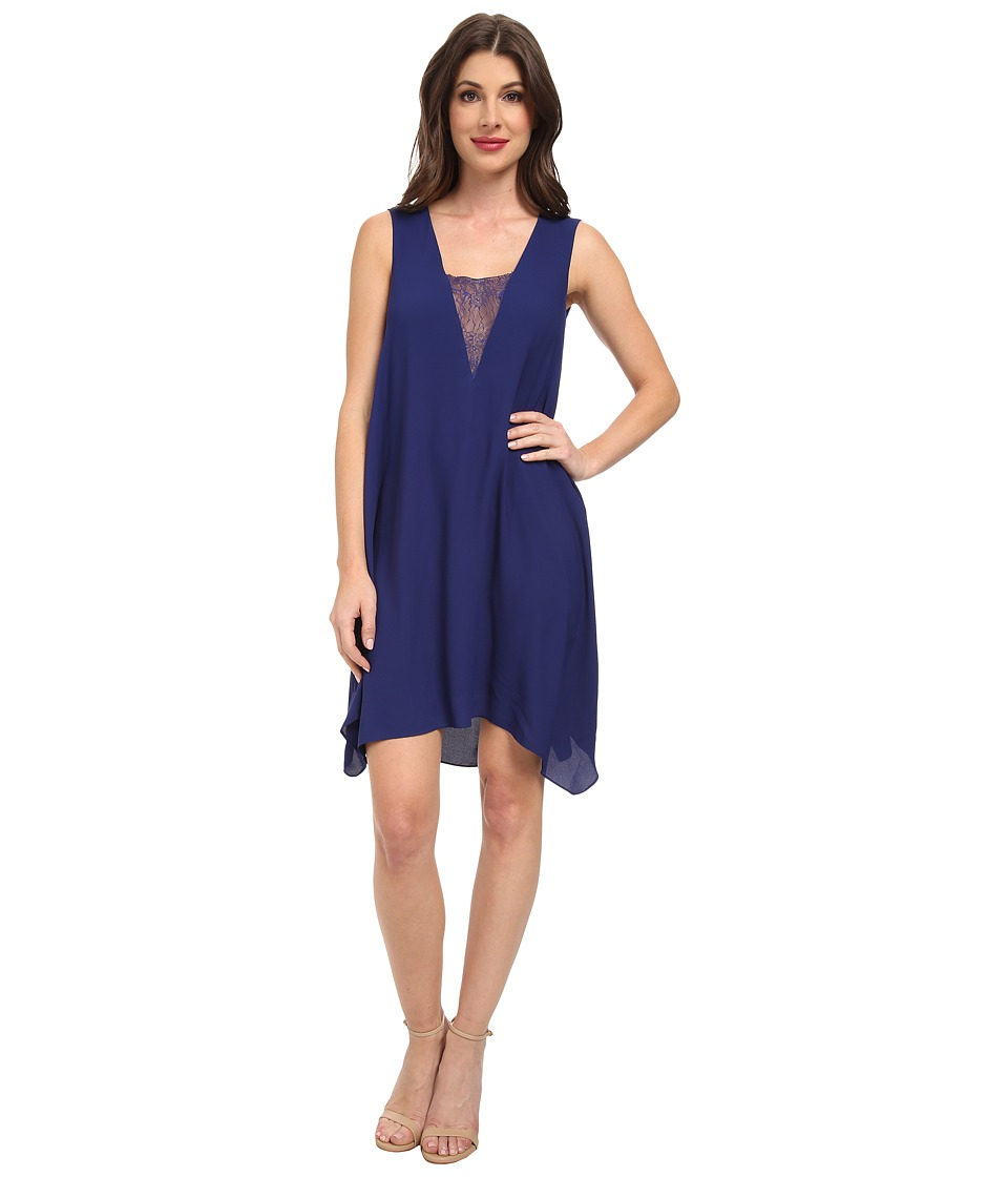 BCBGMAXAZRIA - Alie Sleeveless Cocktail Dress (Orient Blue) Women's Dress
