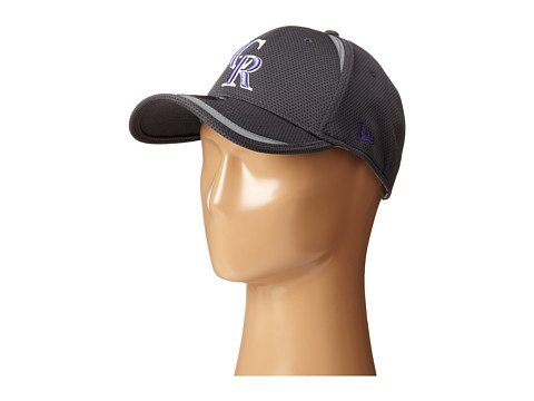 New Era - Reflectaline Colorado Rockies Graphite (Grey) Caps