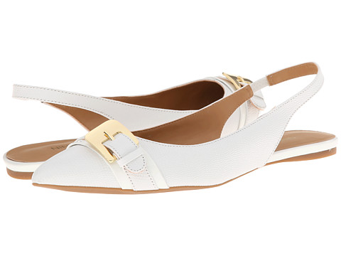 Nine West - Anyamarie (White/White Leather) Women