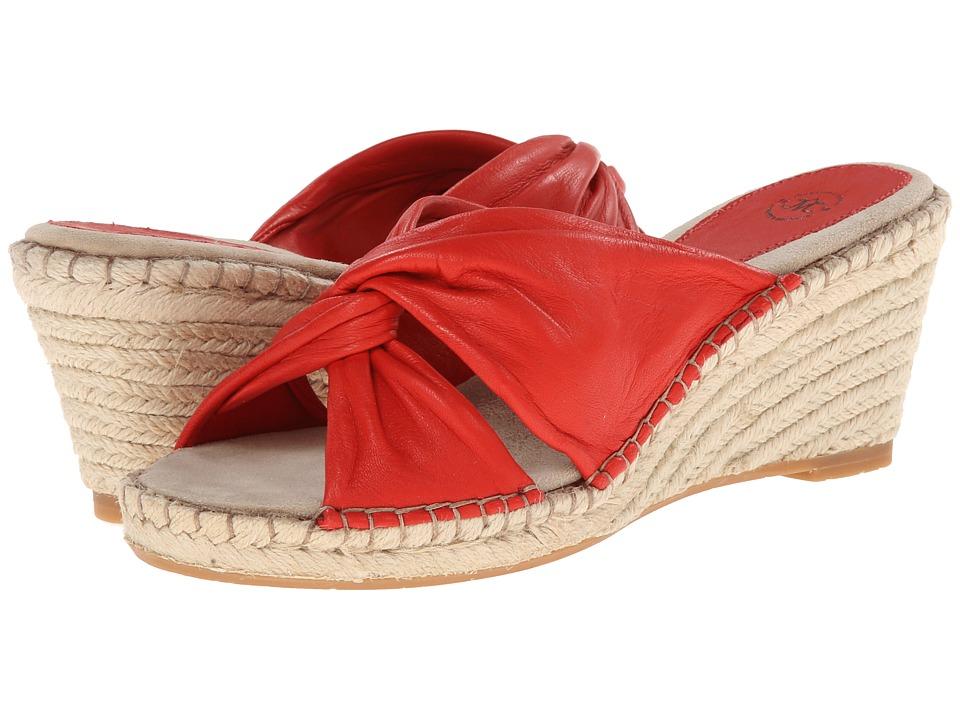 Johnston & Murphy - Ainsley Draped Slide (Firebird Glove) Women's Slide Shoes
