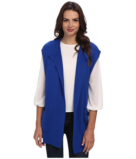Jones New York - Open Cardigan (Bright Cobalt) Women's Coat