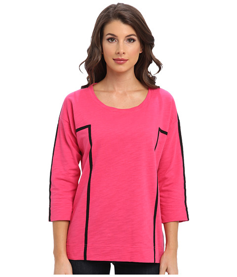 Jones New York - 3/4 Sleeve Pullover (Pink Glaze) Women