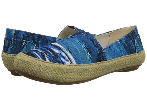 Nine West - Gilboy (Blue Print Fabric) Women's Flat Shoes